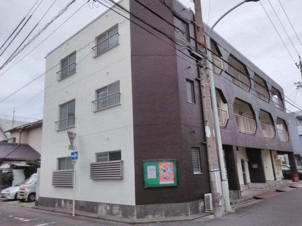 外壁塗装工事(静岡市葵区田町コーポラスG様邸)