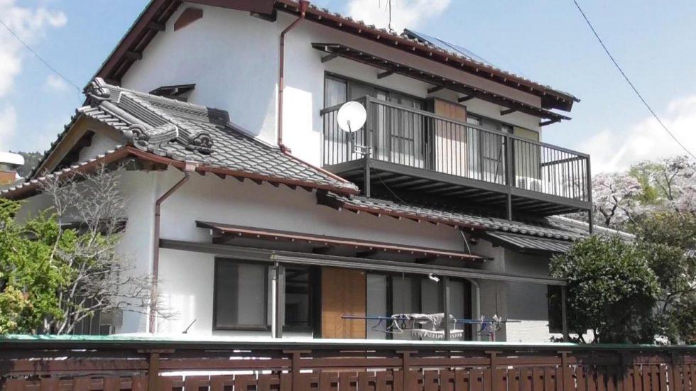外壁塗装工事(島田市川根町T様邸)