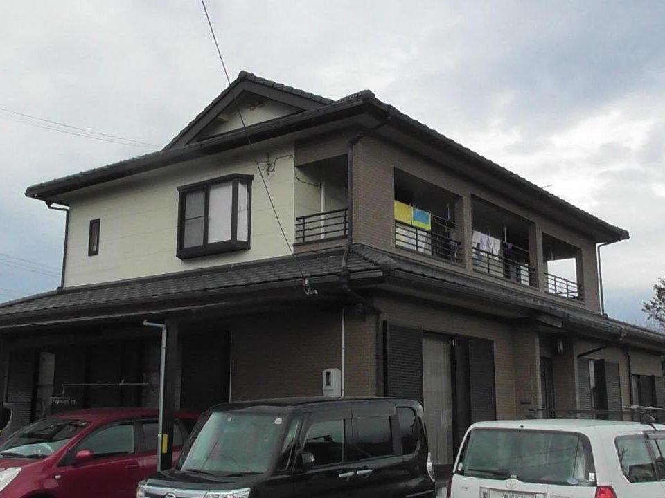 外壁塗装工事(静岡市清水区庵原町K様邸)