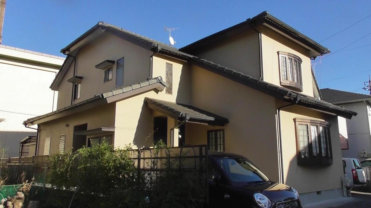 外壁・屋根塗装工事(静岡市清水区北矢部E様邸)