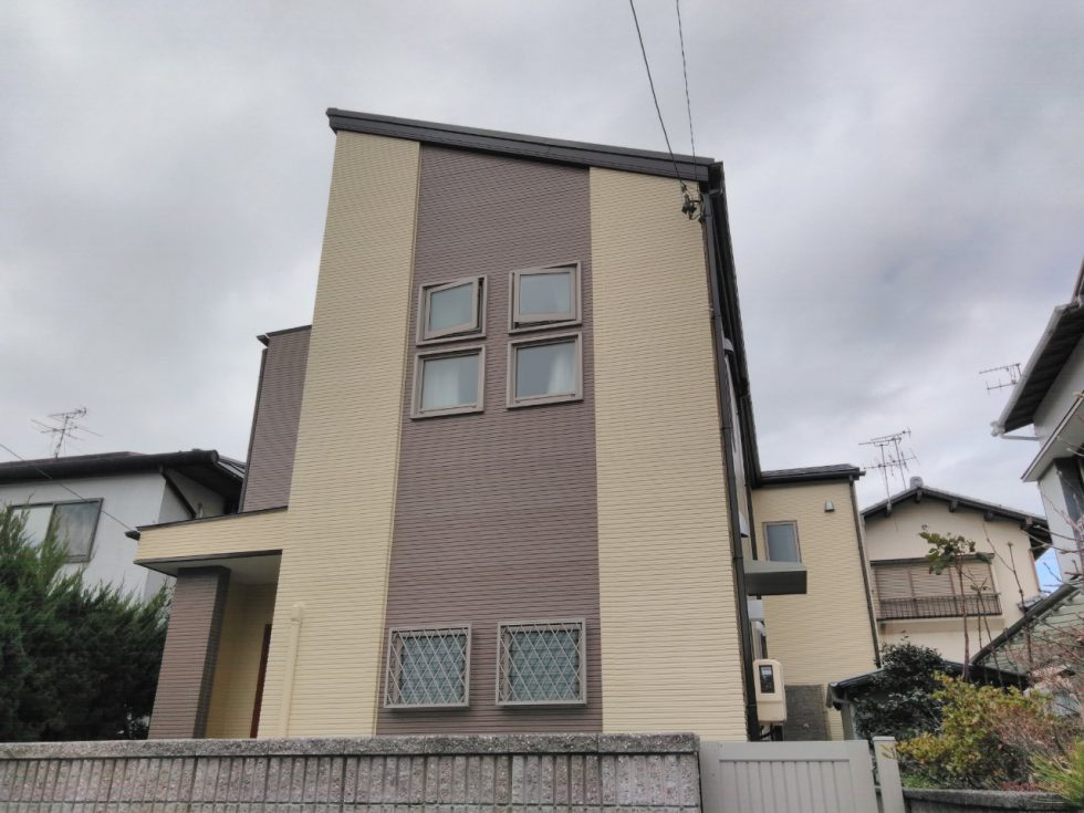 外壁・屋根塗装工事(静岡市清水区堂林Y様邸)