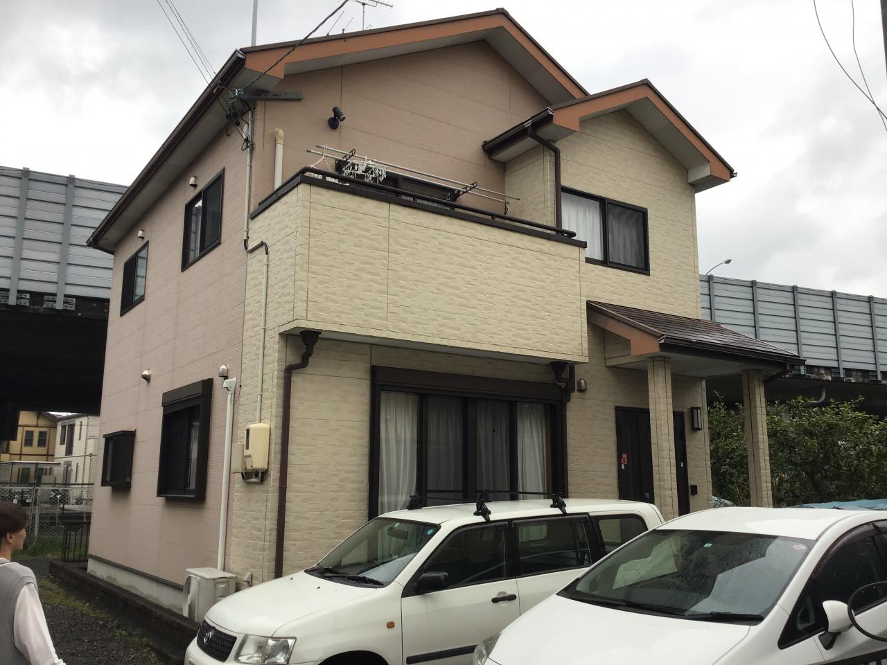 外壁・屋根塗装工事(静岡市駿河区西脇M様邸)