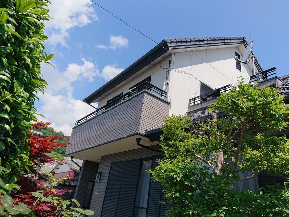 外壁塗装工事(富士市O様邸)