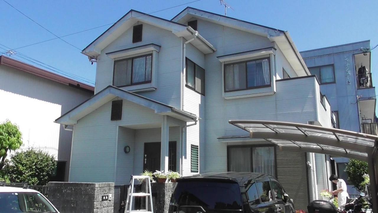 外壁・屋根塗装工事(静岡市駿河区下島T様邸)