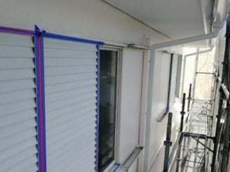 2階外壁上塗り
