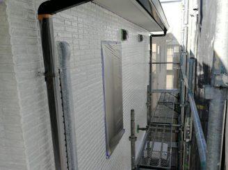 2階外壁下塗り完了
