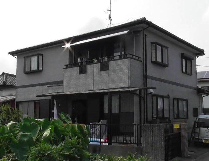 外壁塗装工事(静岡市清水区原I様邸)