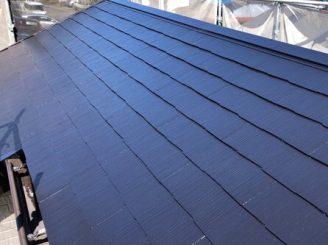 屋根 上塗り 全体
